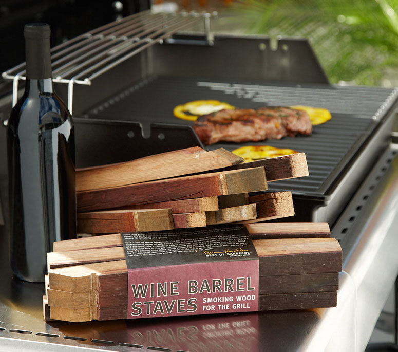 Wine Barrel Staves Smoking Wood For The Grill