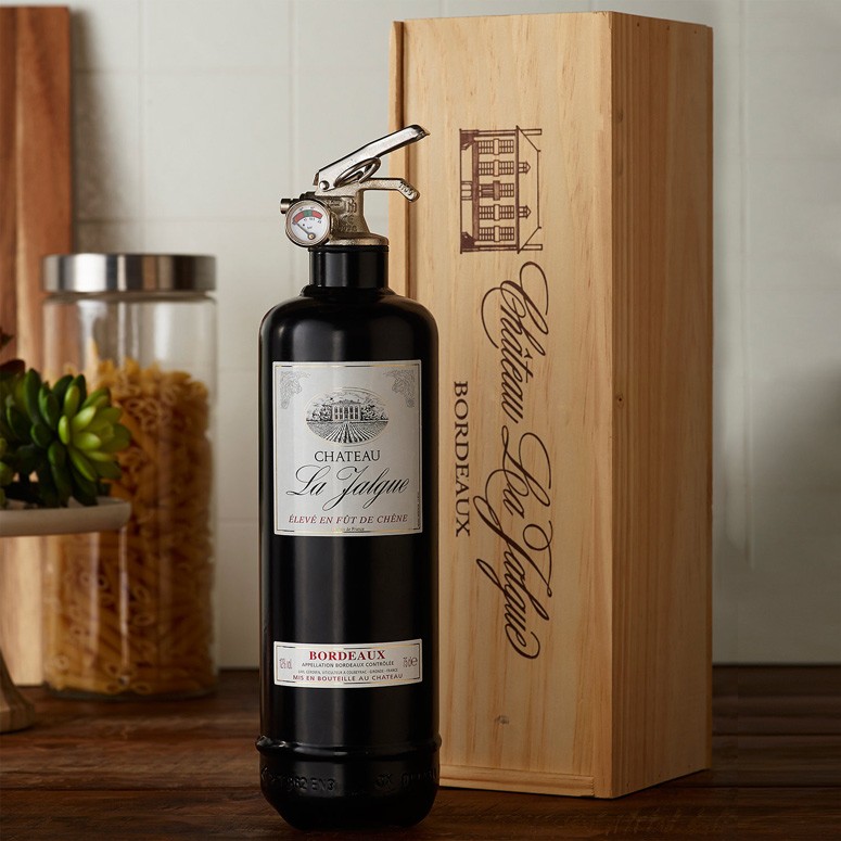 Wine Bottle Fire Extinguisher Fully Functional The