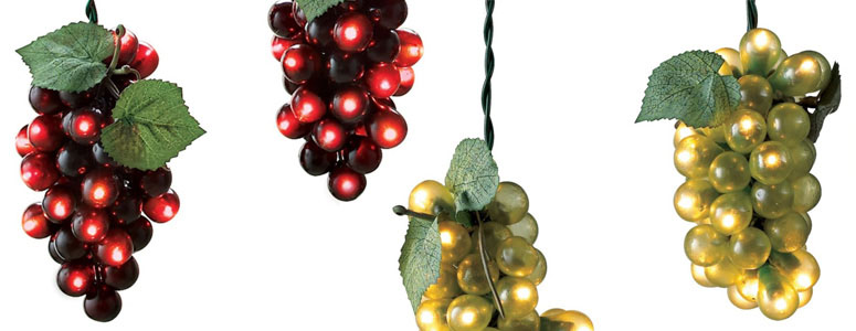 Wine Grape Lights The Green Head