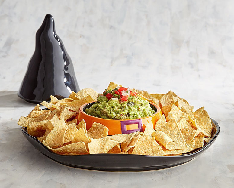 Witch Hat Halloween Chip and Dip Server