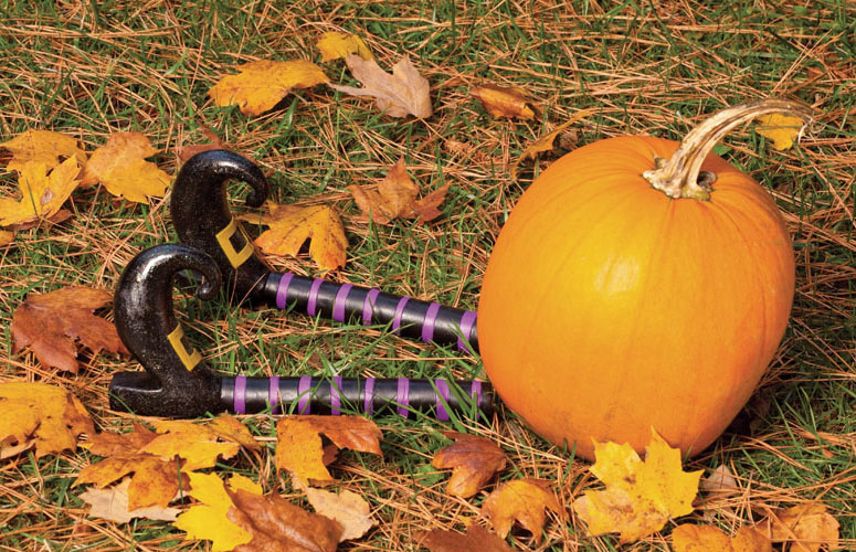 Witch Legs Pumpkin Costume