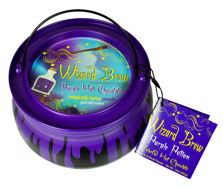 Wizard's Brew Purple Hot Chocolate Potion