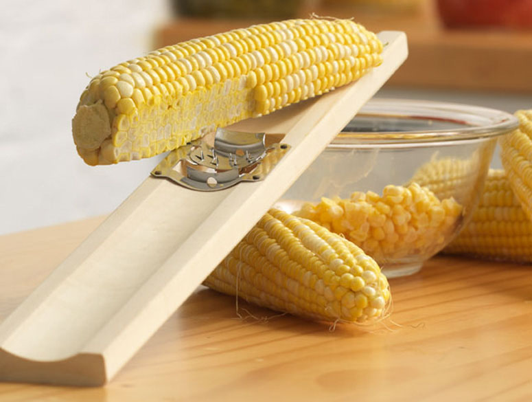 Wooden Corn Cutter