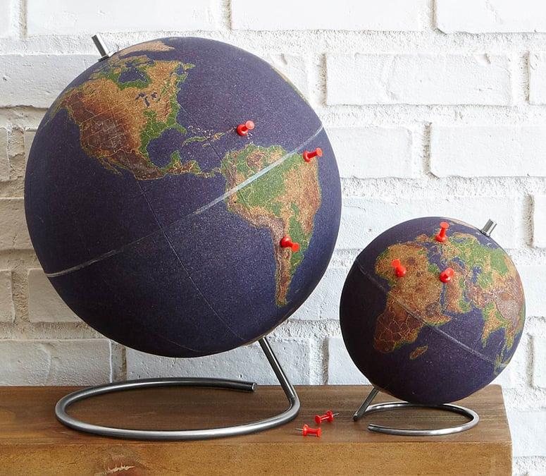 Image result for World Traveler's Cork Globe