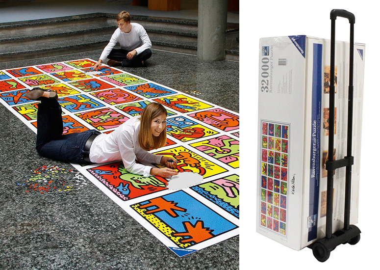 World's Largest Jigsaw Puzzle (32,256 pieces)