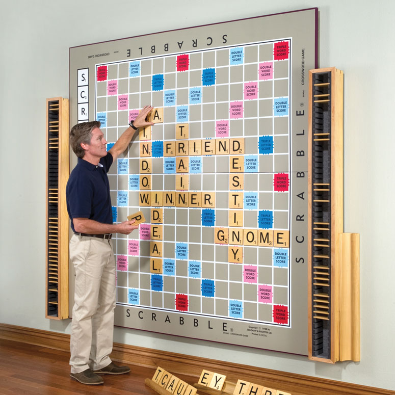 The Worlds Largest Scrabble Game Only 12000