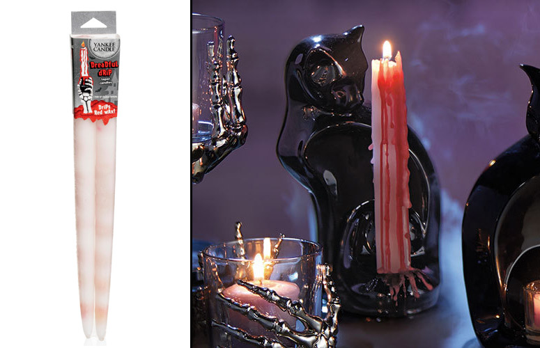 Yankee Candle Dreadful Drip Candles - Drips Blood Red Wax!