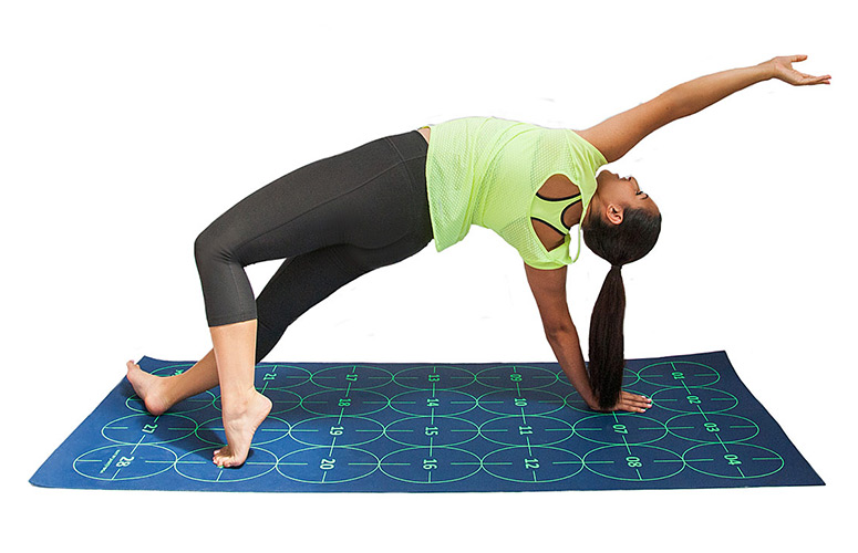 Yoga By Numbers - Yoga Learning Mat