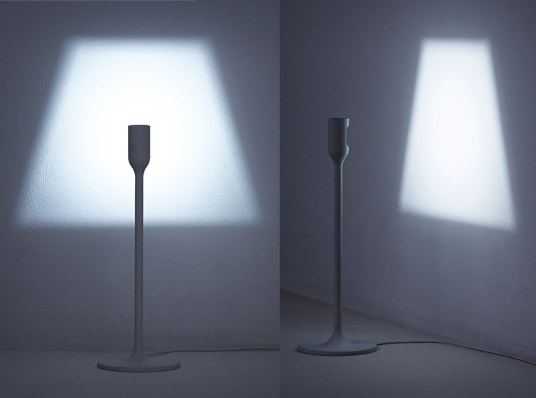 Yoy Light - Projects Its Own Lampshade