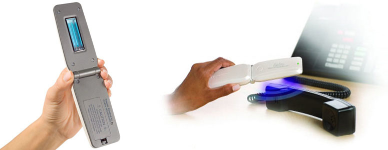 Zadro Nano - Handheld Germ-Eliminating UV Light Scanner