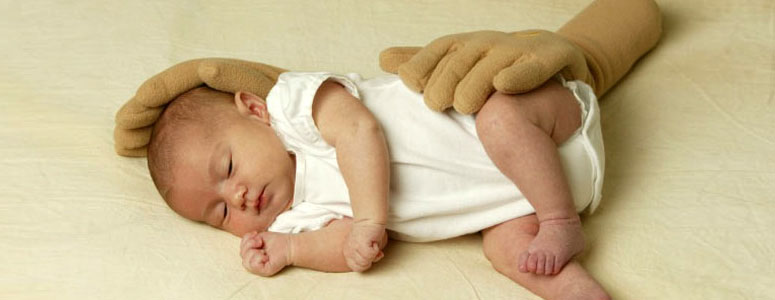 Zaky Hand Pillow - Your Baby Is In Good Hands