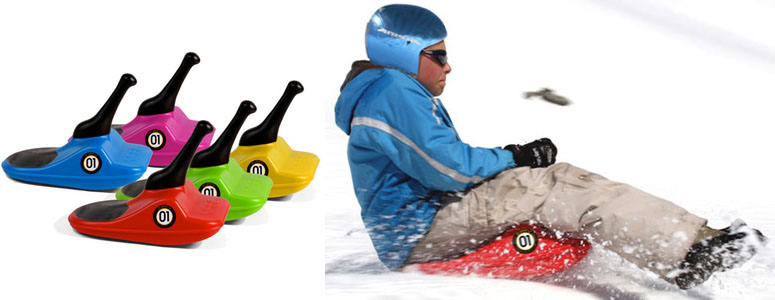Zipfy - Freestyle Mini Luge / Snow Sled