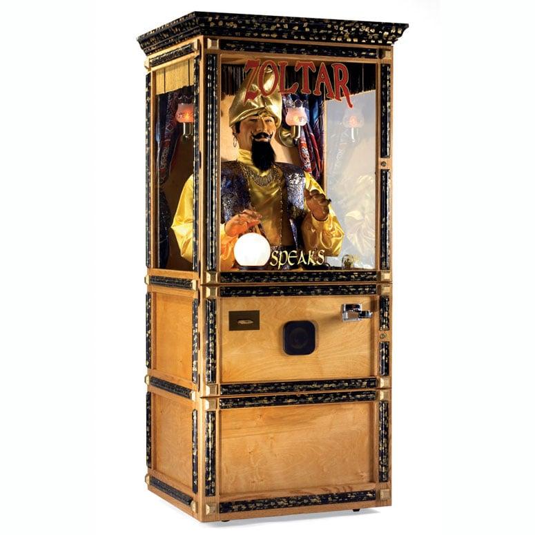 Halloween Fortune Teller Animatronic.Zoltar Animatronic Fortune Teller Machine