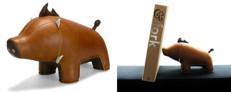 Zuny Animal Bookends / Doorstops / Paperweights