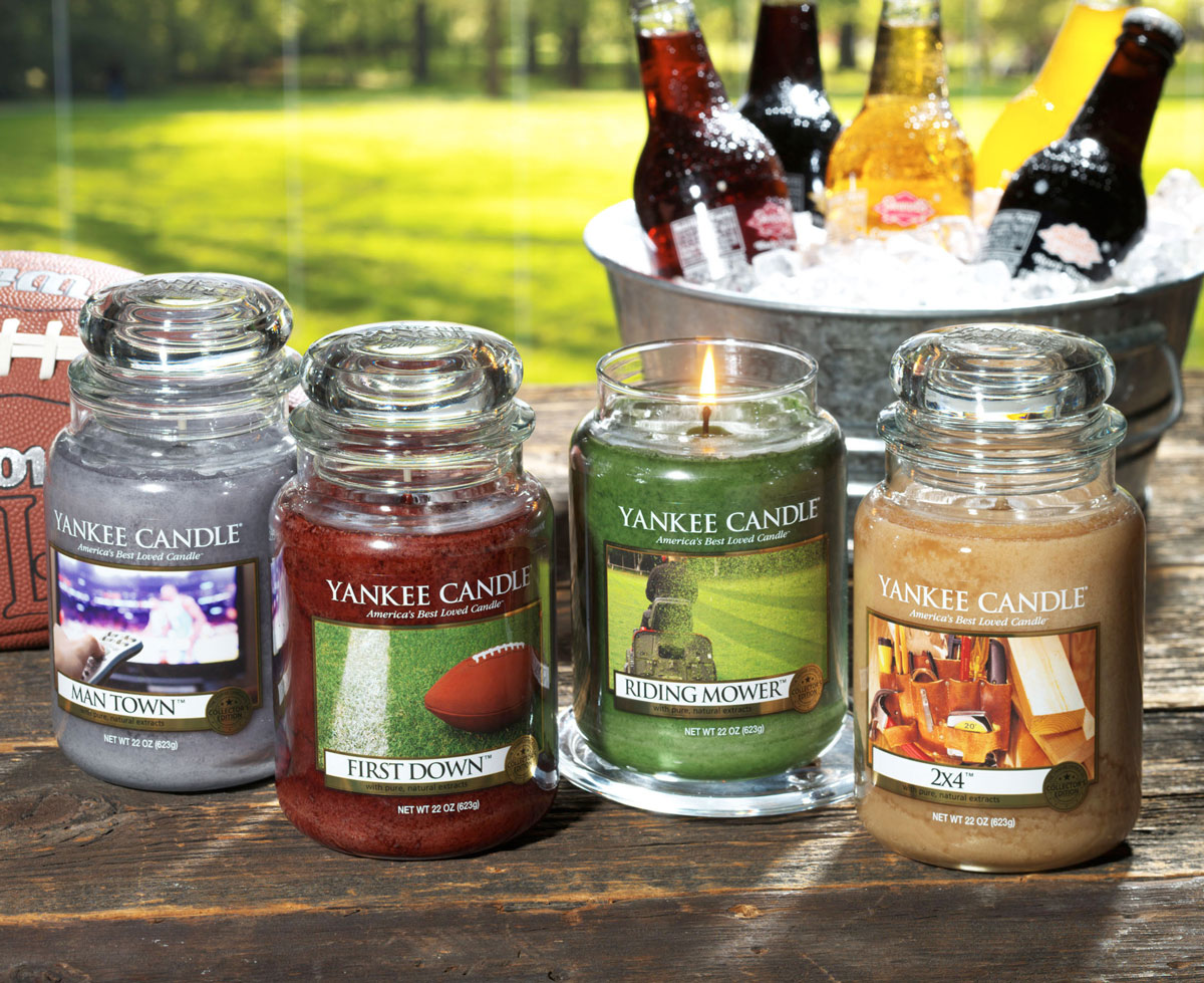 Yankee candle man candles the green head for How to scent candles