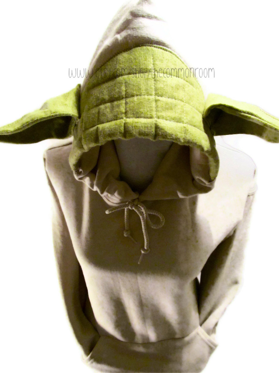 Yoda Hoodie Sweatshirt  sc 1 st  The Green Head & Yoda Hoodie Sweatshirt - The Green Head