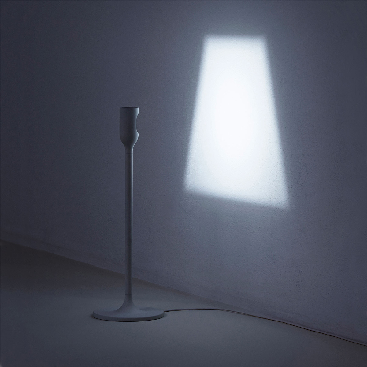Yoy Light Projects Its Own Lampshade