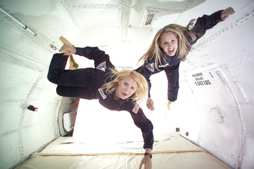 Valentine's Day Zero Gravity: Fly Like a Superhero and Float Like ...