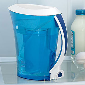Zerowater Pure Water Pitcher With Push Button Dispenser