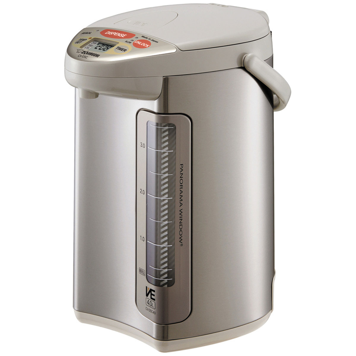 Zojirushi Ve Hybrid Stainless Steel Water Boiler Amp Warmer